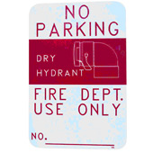 Dry Hydrant Signs